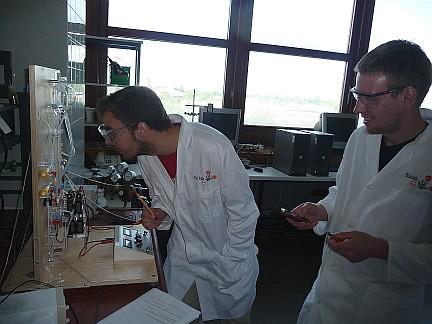 Laborarbeit im NatLab