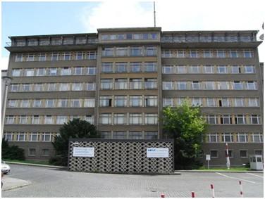 das Gebäude des MfS